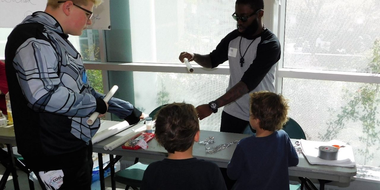 Tech. Writing Students Inspire Kids with Science